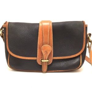 Dooney & Bourke crossbody leather bag pre-owned